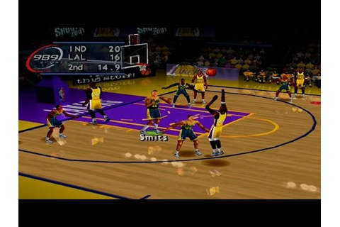 NBA ShootOut 2001 Gameplay Exhibition Mode (PlayStation ...