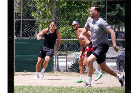 Blake Griffin, Chandler Parsons Play Kickball on Memorial ...