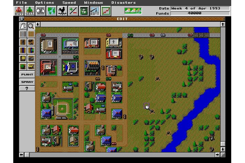 Download SimFarm simulation for DOS (1993) - Abandonware DOS