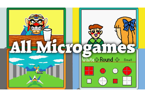 WarioWare: D.I.Y. - All 114 Microgames - YouTube