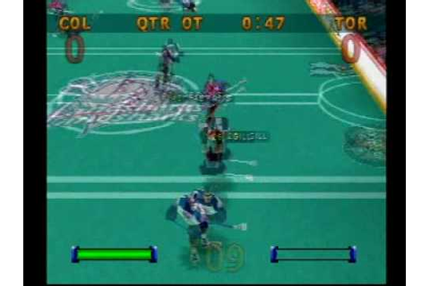 Blast Lacrosse sudden death multiplayer game play - PS1 ...