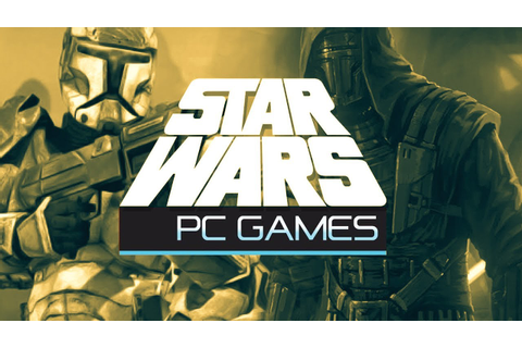 Five of the Best Star Wars PC Games - YouTube