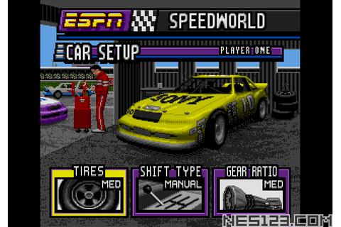 ESPN Speed World SEGA Roms Games online