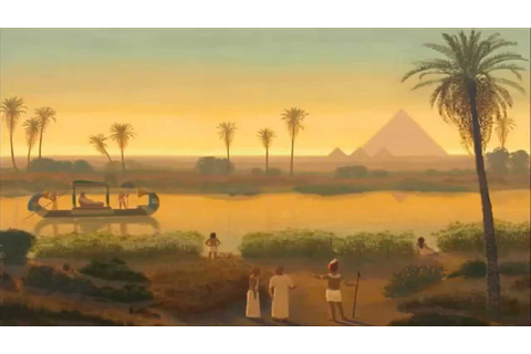 Ancient Egyptian Music - The Nile River - YouTube