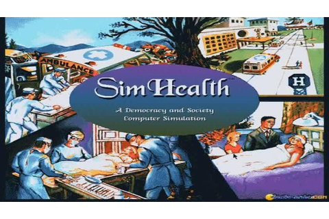 SimHealth gameplay (PC Game, 1994) - YouTube