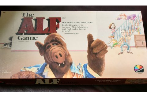 The ALF Board Game | THE SURFING PIZZA