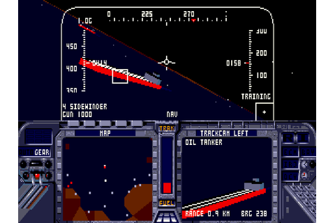 F-19 Stealth Fighter - The Company - Classic Amiga Games