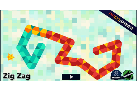 Zig Zag | Play the Game for Free on PacoGames
