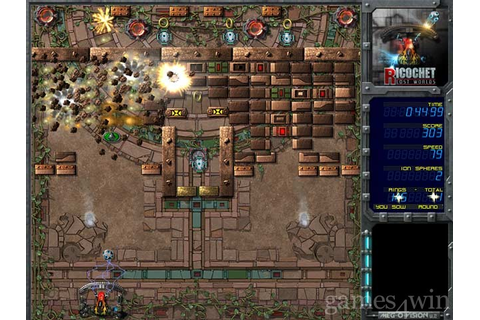Ricochet Lost Worlds Download on Games4Win