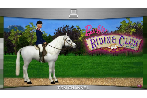 Barbie Riding Club (part 1) (Horse Game) - YouTube