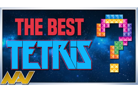 The Best Tetris Game You've Never Played - Nav - YouTube