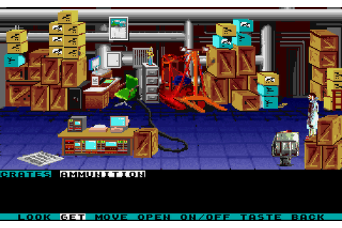 Mean Streets (1989) by Access Software MS-DOS game