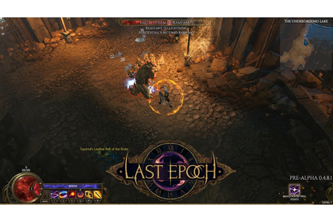 Last Epoch | Sorcerer Class Gameplay | Pre Alpha Demo (PC ...