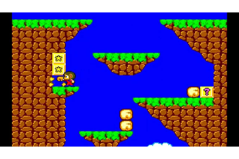 Ending Old Games - Alex Kidd in Miracle World - Sega ...