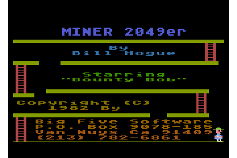 Download Miner 2049er - My Abandonware
