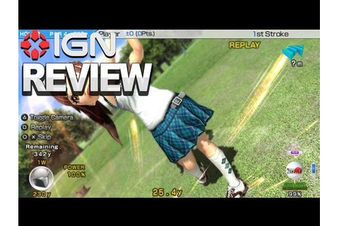 IGN Reviews - Hot Shots Golf: World Invitational Vita ...