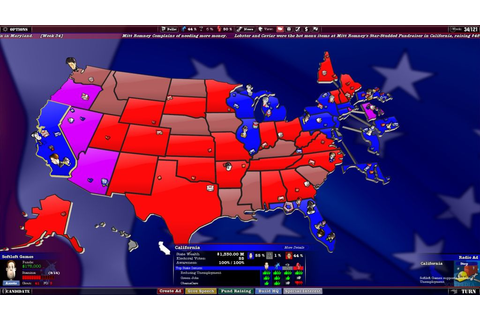 The Political Machine 2012 Review (PC)