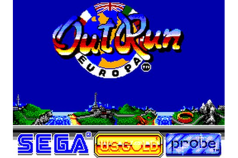 Out Run Europa (Europe) ROM