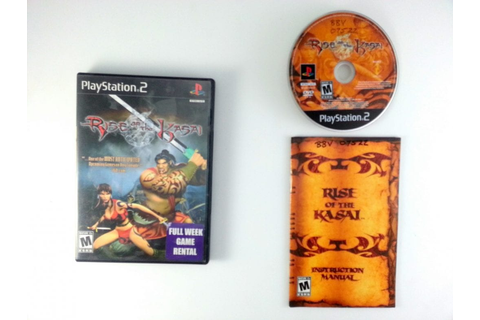 Rise of the Kasai game for Playstation 2 (Complete) | The ...
