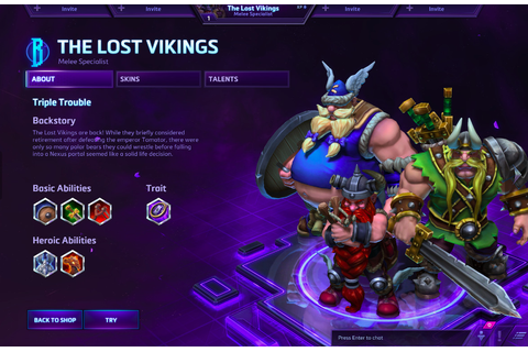 The Lost Vikings have come to Heroes of the Storm, and ...