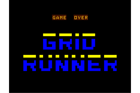 Download Gridrunner - My Abandonware