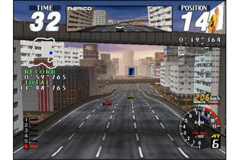 Rave Racer - Videogame by Namco