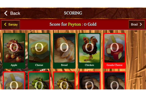 Sheriff of Nottingham Companion App - iOS Board Games ...
