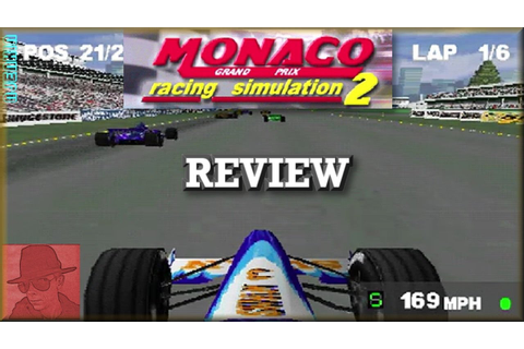 Monaco Grand Prix Racing Simulation 2 - PS1 - with ...