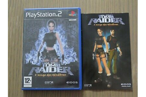 JEU PLAYSTATION 2 PS2 LARA CROFT TOMB RAIDER L'ANGE DES ...