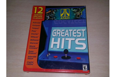 ATARI GREATEST HITS 1&2 CD PC Game Windows 95/98 Hasbro ...