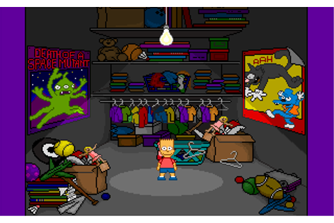 Download Simpsons - Barts House of Weirdness, The | Abandonia