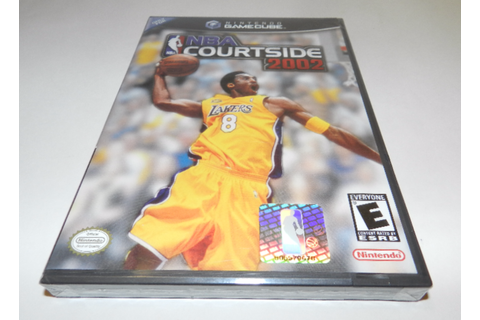 NBA Courtside 2002 Nintendo GameCube Video Game New Sealed ...