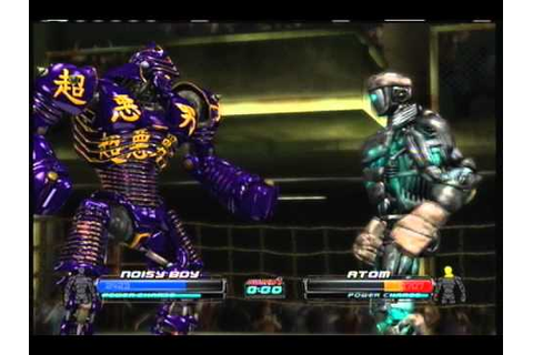 real steel gameplay - YouTube