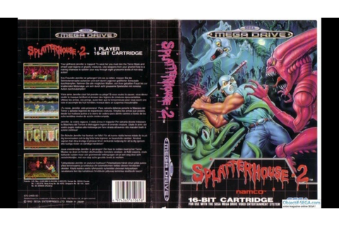 Splatterhouse 2 - Sega Megadrive/Genesis - (Full Game ...