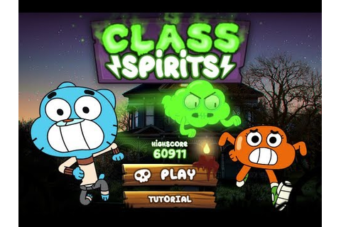 The Amazing World Of Gumball Online Games Class Spirits ...