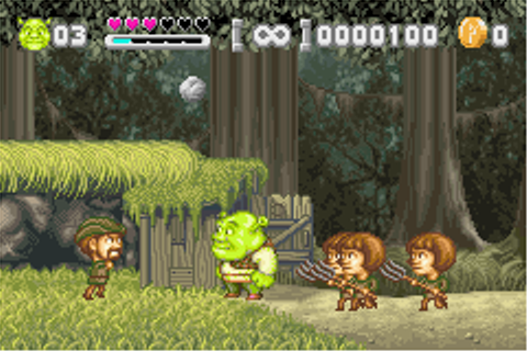 Play Shrek – Hassle at the Castle Online - Play Game Boy ...