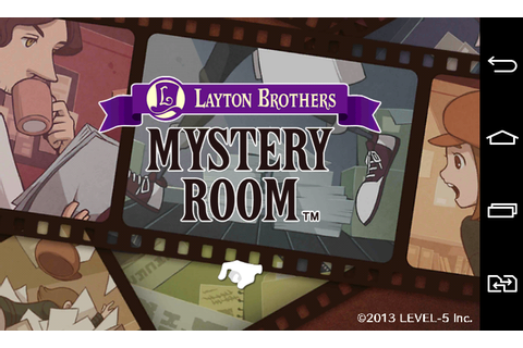 Layton brothers mystery room - Android games - Download ...