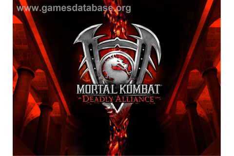 Mortal Kombat: Deadly Alliance - Microsoft Xbox - Games ...