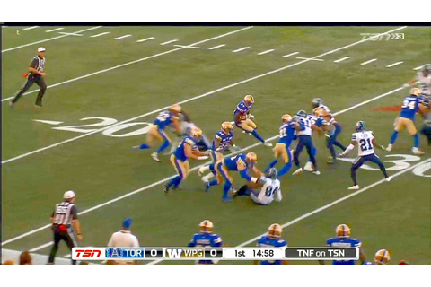 CANADIAN FOOTBALL: CFL 2017 RS Week 4 Games - 13-15.07.2017