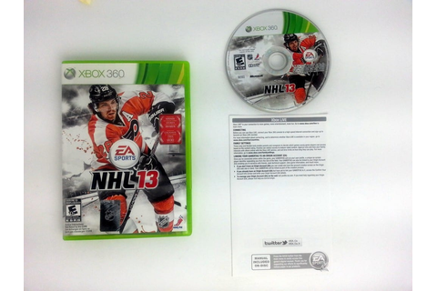 NHL 13 game for Xbox 360 (Complete) | The Game Guy
