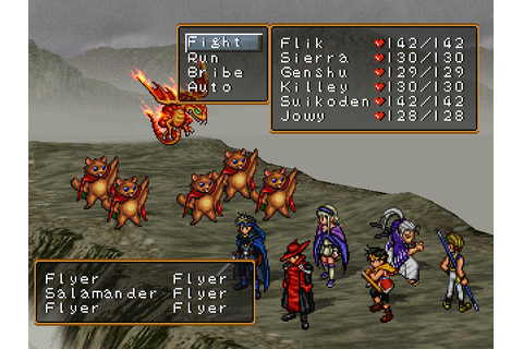 Suikoden 1 and 2 hit PSN. - PlayStation Country