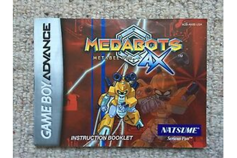 Medabots Metabee Ver. AX - Game Boy Advance GBA ...