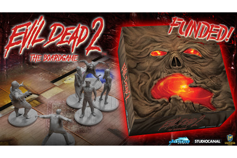 Evil Dead 2 The Board Game by Jasco Games — Kickstarter