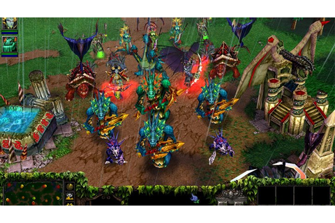 Warcraft III: The Frozen Throne GAME MOD Warcraft 3 ...