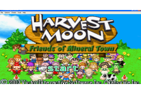 berbagi file gratis: Harvest moon friends of mineral town ...