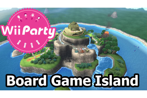 Wii Party - Party Mode - Board Game Island - YouTube