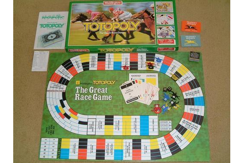 Remember the great race game Totopoly? : Prince Edward ...