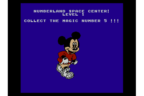 Mickey's Adventures in Numberland Download Game | GameFabrique