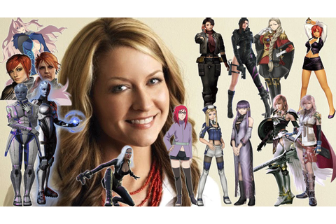 "The Many Voices of ""Ali Hillis"" In Video Games - YouTube"