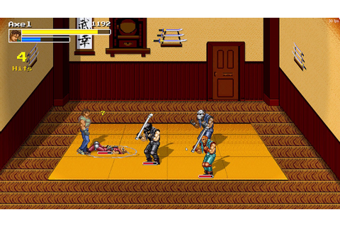 Streets of Chaos - Streets of Rage fan game made with ...